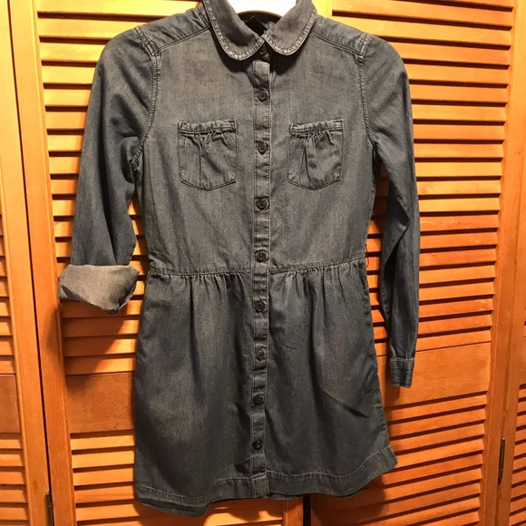 Gap Kids Denim Jean Dress